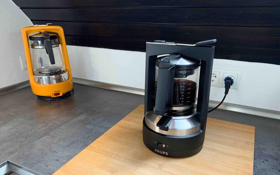 Krups Druckbrühautomat T8 – die etwas andere Kaffeemaschine