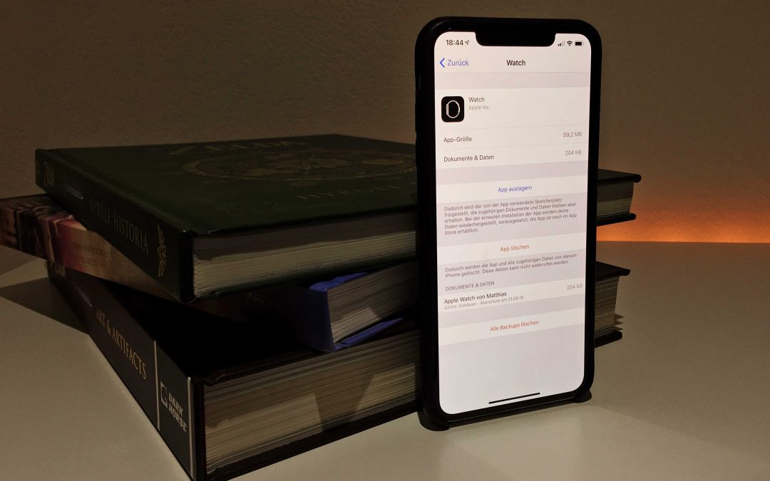 Tipp: Wie du Backups von deiner Apple Watch löschst