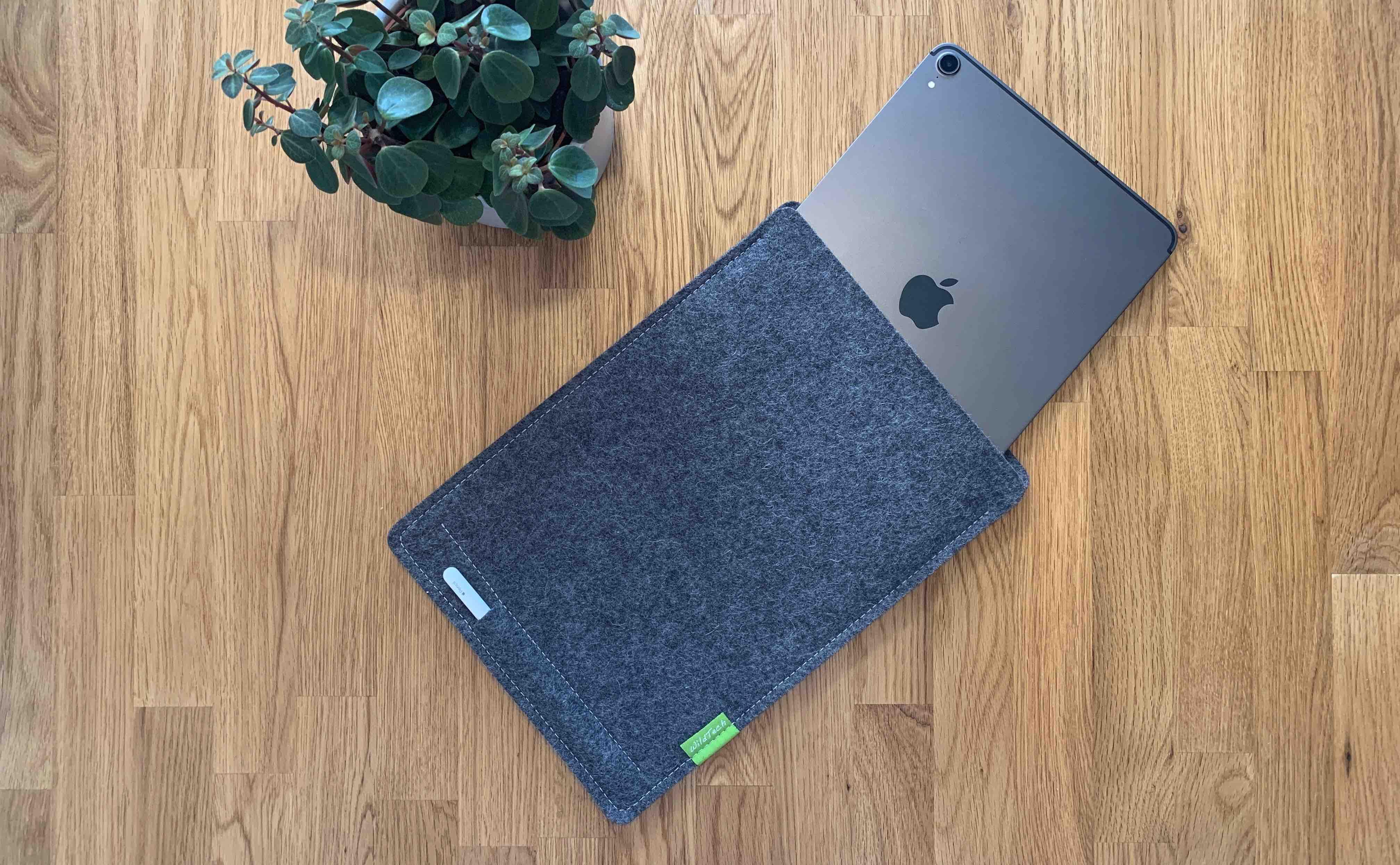 WildTech_Zubehör_Wollfilz_iPad_Review3 Wollfilz-Hülle für das iPad von WildTech - funktioneller und stylischer Geräteschutz
