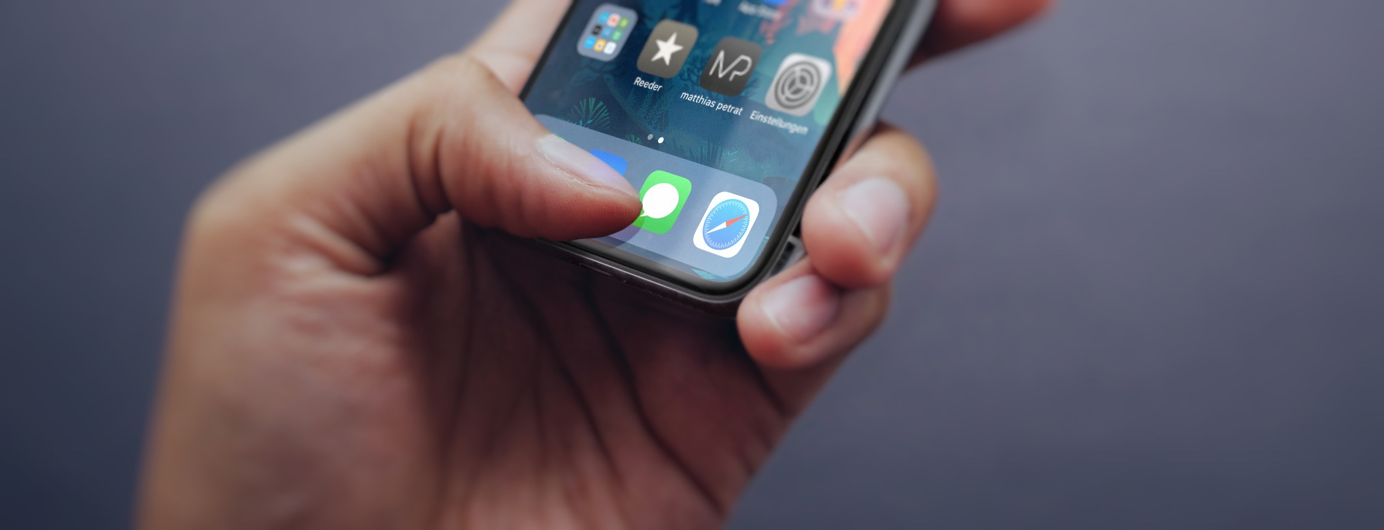 iMessage-as-a-Service-Artikelbild Wie viel Smartphone ist eigentlich gut für uns?