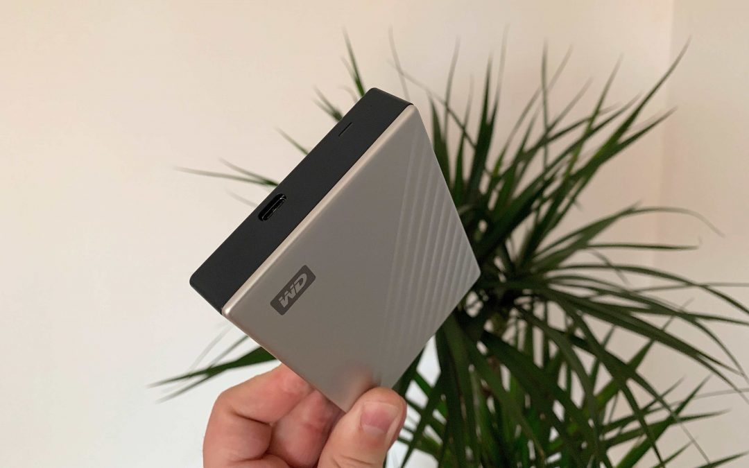 Western Digital My Passport Ultra mit USB-C – klein, aber doch ganz groß