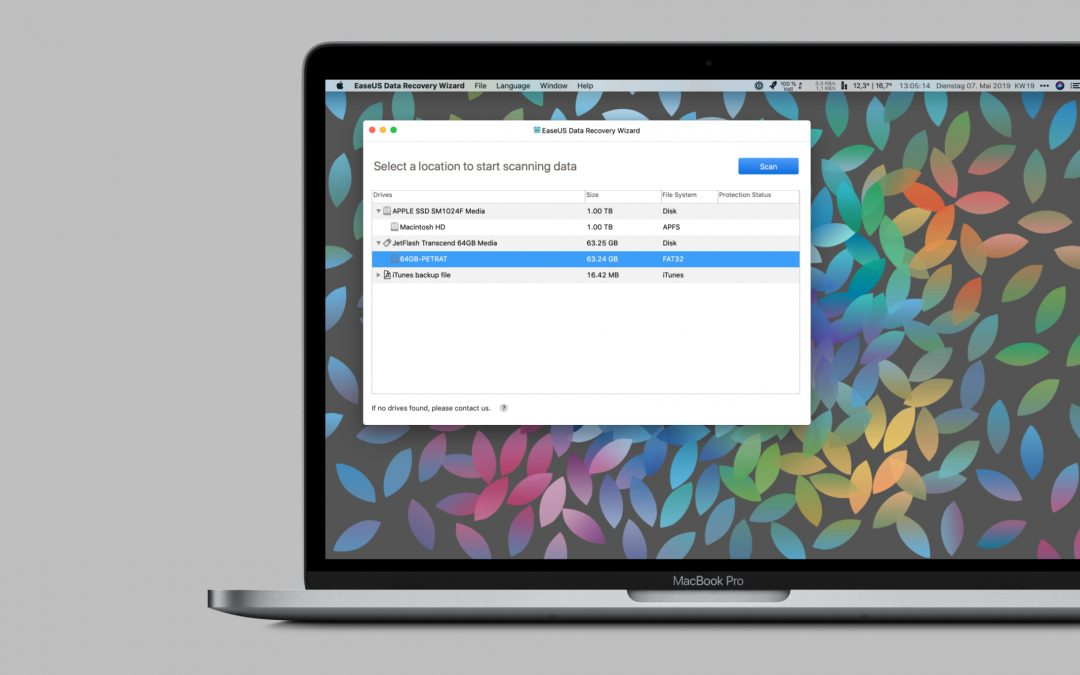 Gelöschte Daten wiederherstellen – Data Recovery Wizard für Mac und Windows von EaseUS