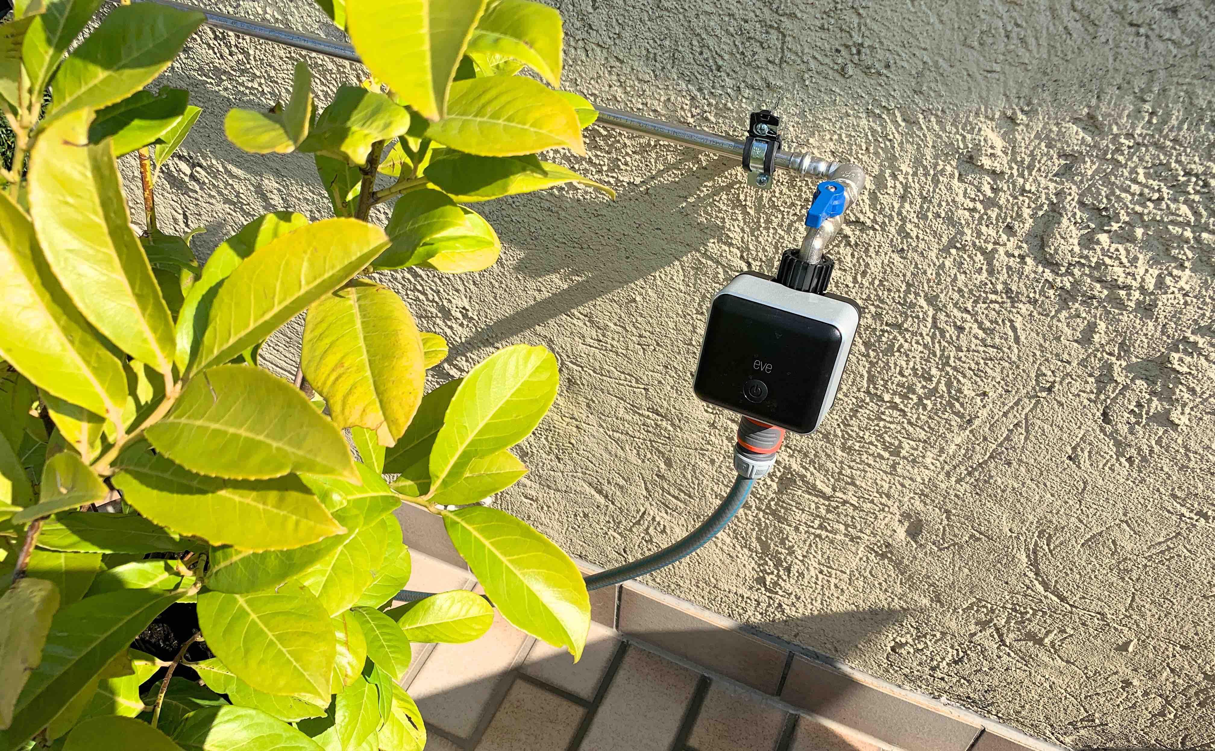 Eve_Aqua_HomeKit_Gardena_Terrasse_Balkon_Pflanzen_Bewässerung2 Wie HomeKit deine Pflanzen auf Balkon/Terrasse automatisiert bewässert