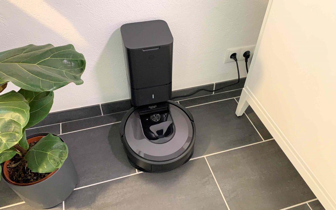 iRobot Roomba i7+ – reinigt die Wohnung und entleert sich von alleine