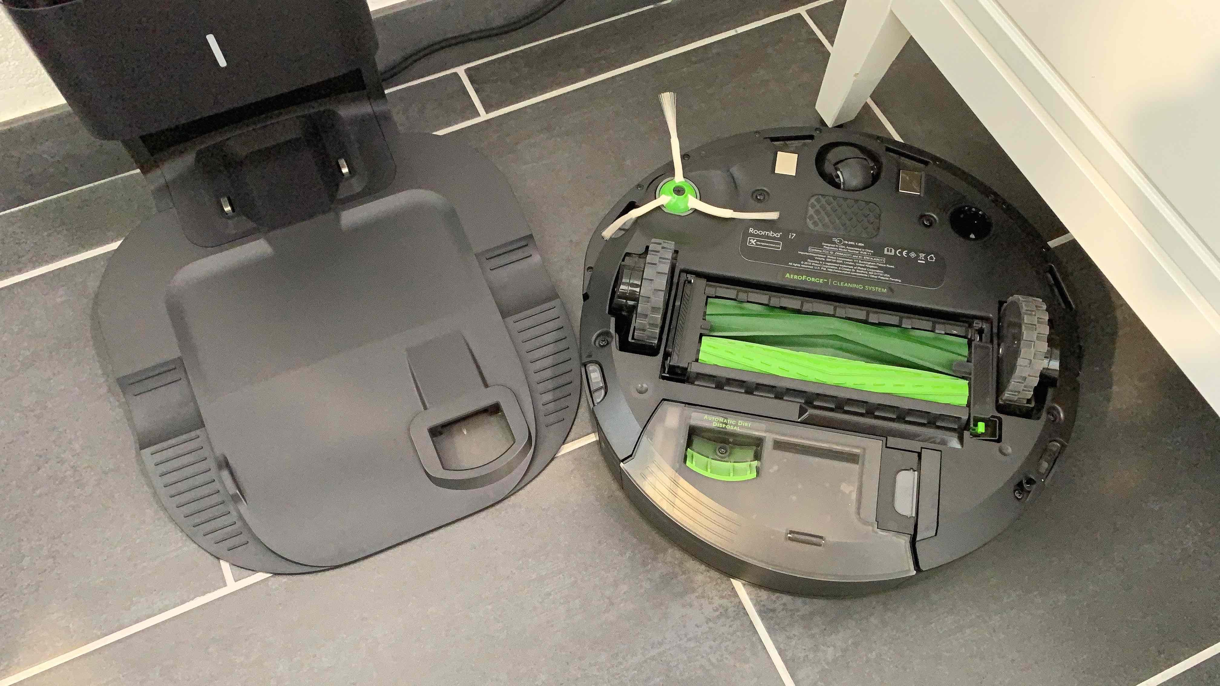 iRobot_Roomba_i7_Saugroboter_Review6 iRobot Roomba i7+ - reinigt die Wohnung und entleert sich von alleine