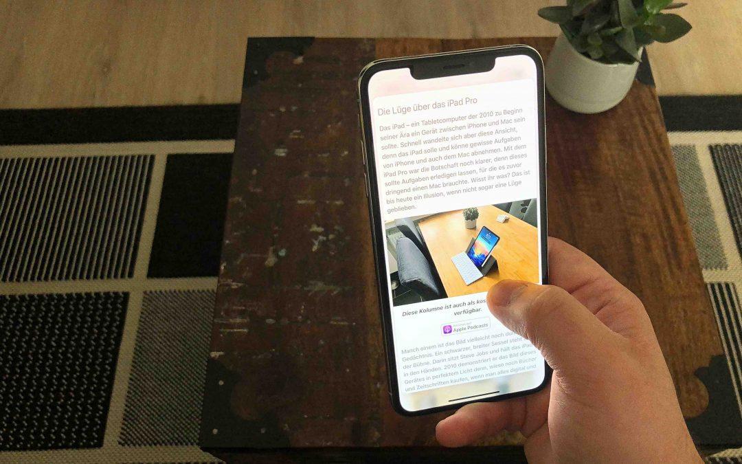 Der Tod von 3D Touch