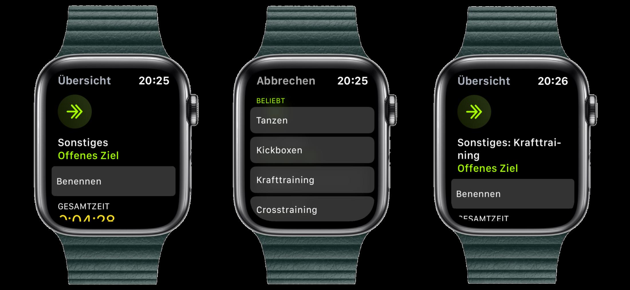 Eigene-Trainingsaktivitäten-auf-der-Apple-Watch-so-gehts2 Eigene Trainingsaktivitäten auf der Apple Watch - so geht's