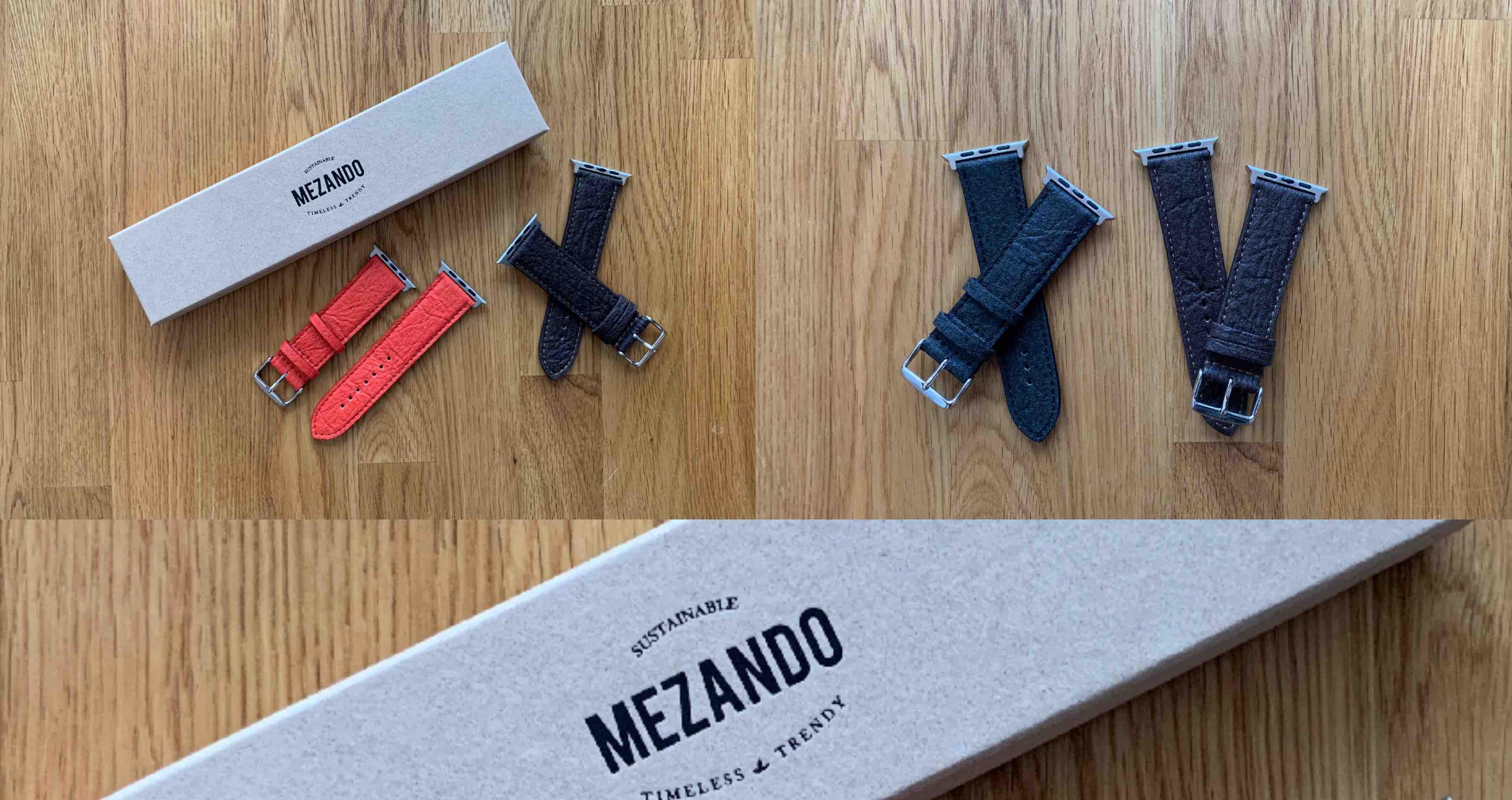 Mezando_Apple_Watch_Watchband_Armband_Uhrenband_Review3 Armbänder für die Apple Watch von Mezando - Ananasfasern statt Leder