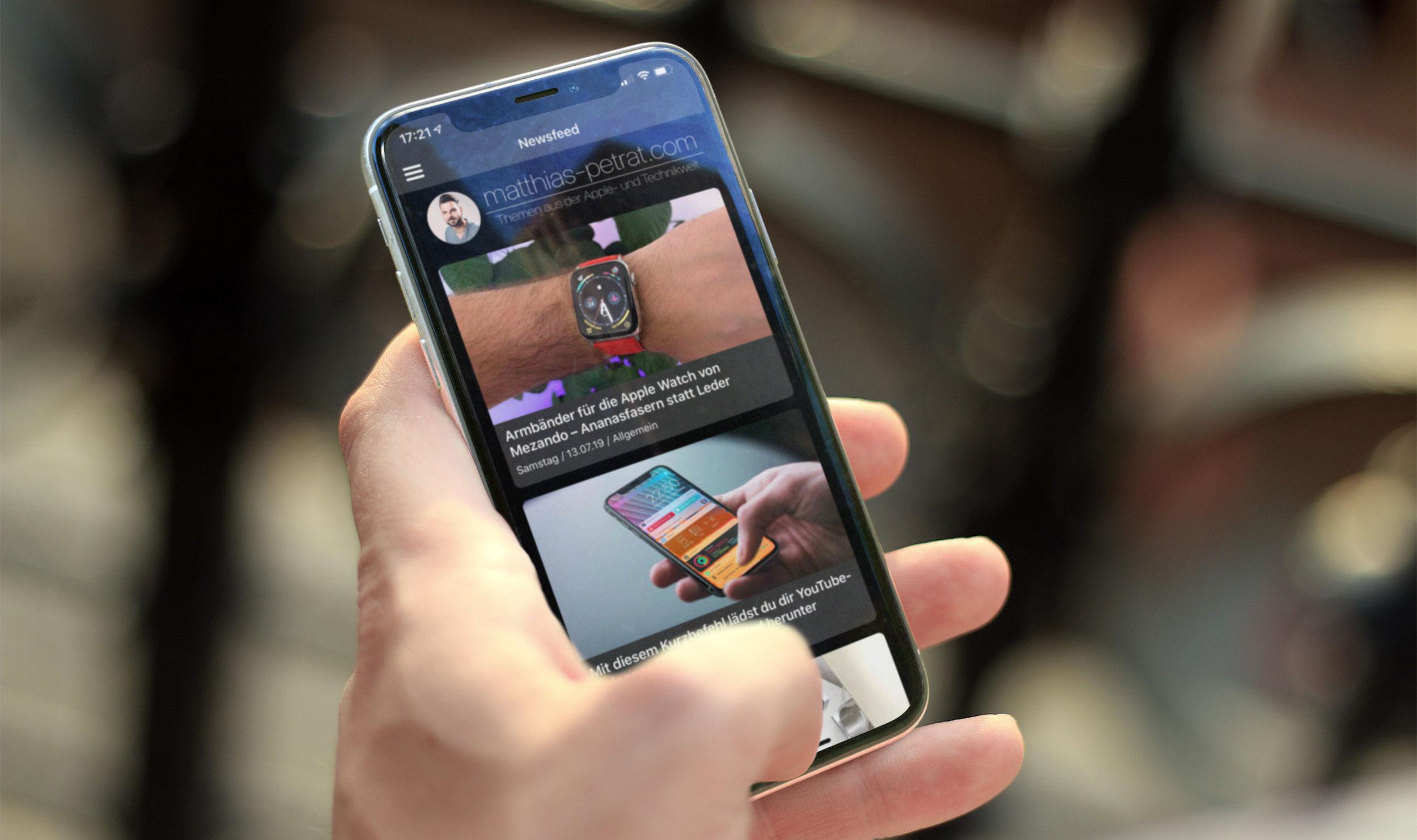 """matthias-petrat-Blog-App-Version-2-Mockup-Sneak-Peak Die App-Version 2.0 von """"matthias-petrat.com"""" kommt und du darfst mitwirken!"""