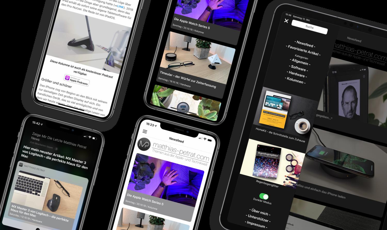 App-2.0-Artikelbild-01 Matthias Petrat 2.0 - die frische App für iOS und iPadOS ist da!