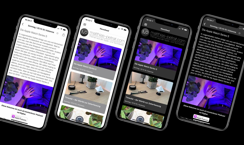 App-2.0-Artikelbild-02 Matthias Petrat 2.0 - die frische App für iOS und iPadOS ist da!