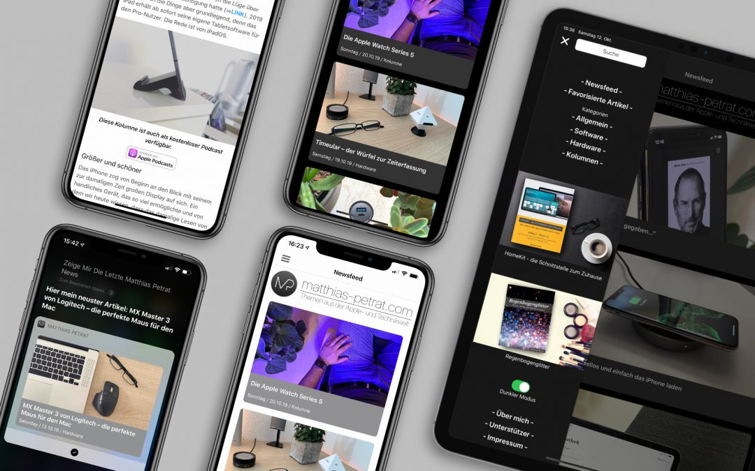 Matthias Petrat 2.0 – die frische App für iOS und iPadOS ist da!