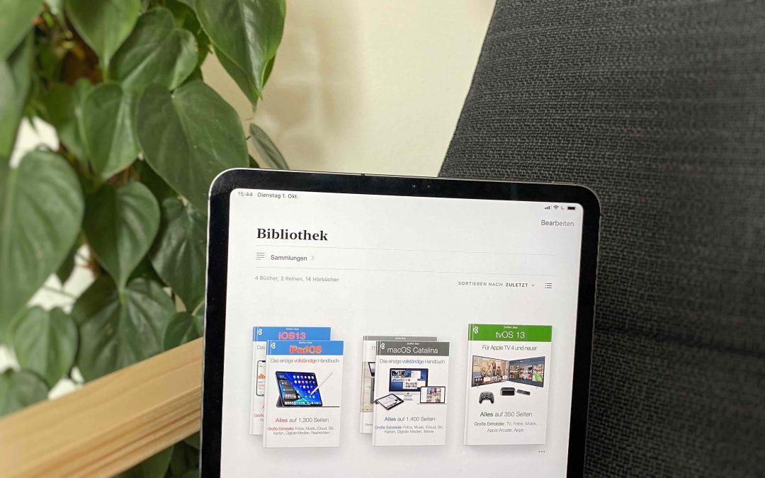 Hilfe mit Fachbüchern zu iOS 13, iPadOS 13, tvOS 13 und macOS 10.15