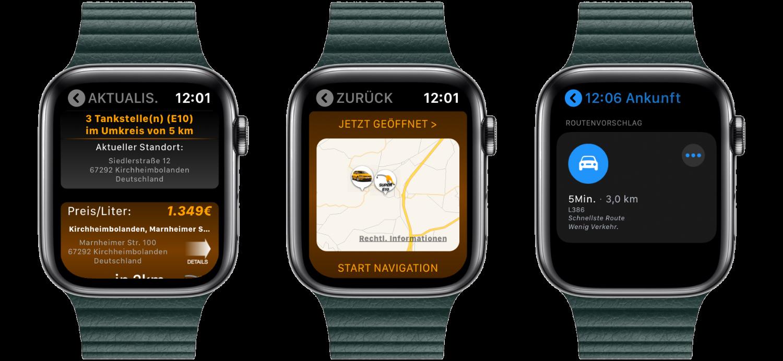 """Fuelz_Apple_Watch_nativ_watchOS_Ladestation_Tanken_Aufladen_App_Review3 """"Fuelz!"""" für die Apple Watch - Stationen zum Tanken oder Laden finden"""