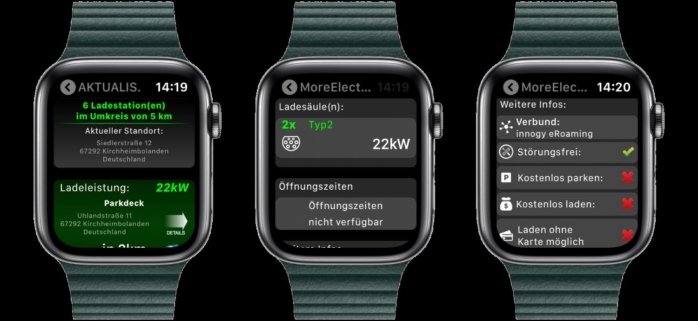 """Fuelz_Apple_Watch_nativ_watchOS_Ladestation_Tanken_Aufladen_App_Review4 """"Fuelz!"""" für die Apple Watch - Stationen zum Tanken oder Laden finden"""