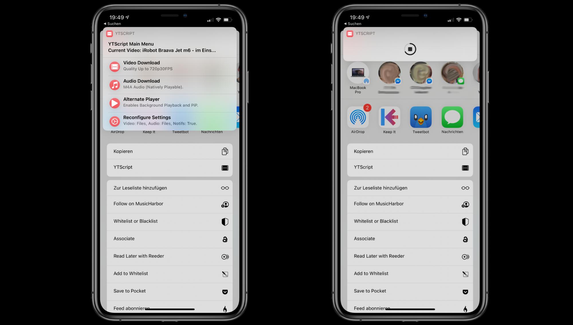 """22YTScript22-Kurzbefehl-lade-YouTube-Videos-als-VideoAudio-auf-dein-iPhoneiPad-herunter5 """"YTScript"""" Kurzbefehl - YouTube-Videos auf iPhone/iPad herunterladen"""