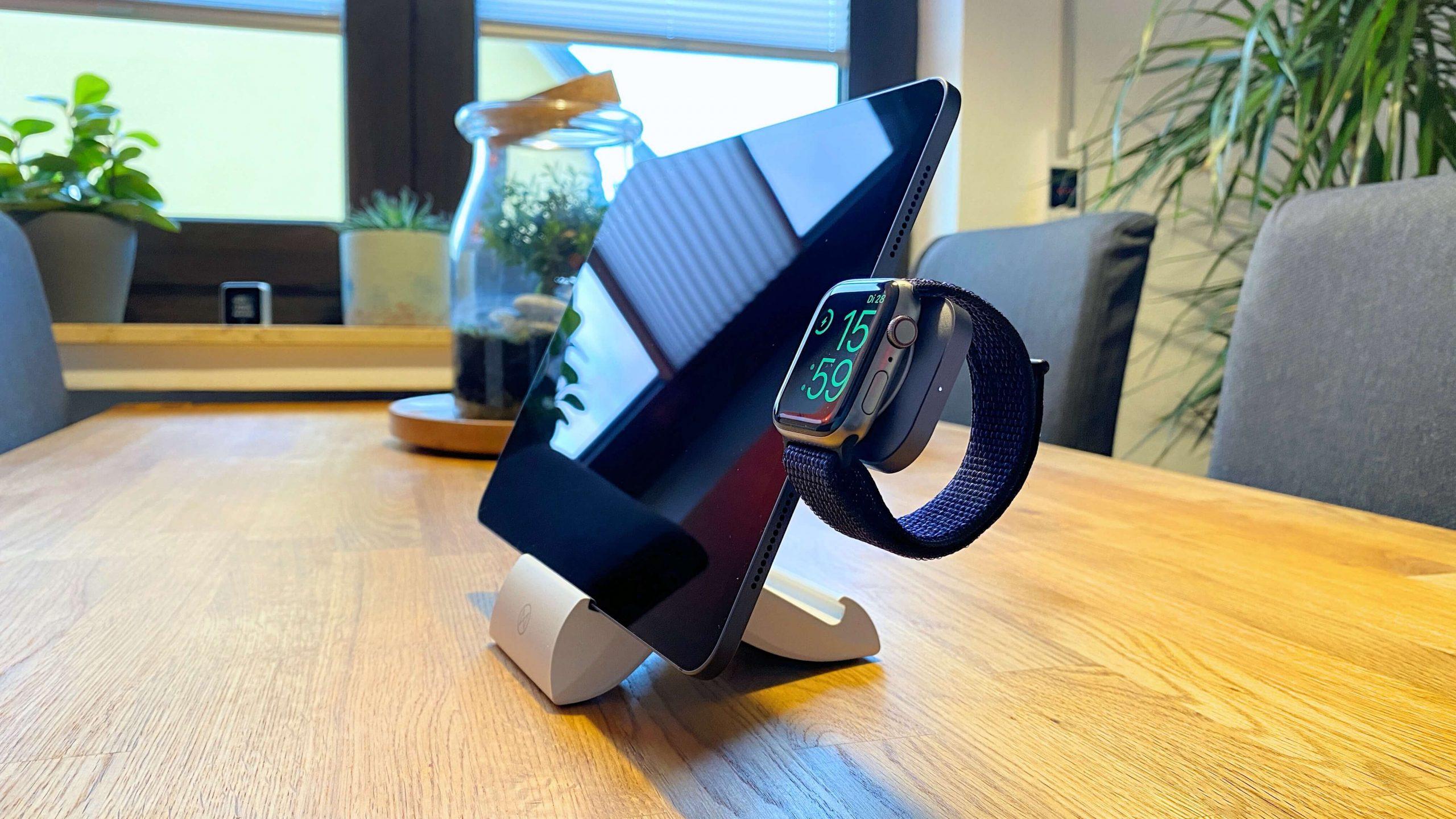 Satechi_Apple_Watch_USBC_Charger_Ladegerät_MFI_Review1-scaled USB-C-Adapter für die Apple Watch von Satechi - ganz ohne Kabel aufladen