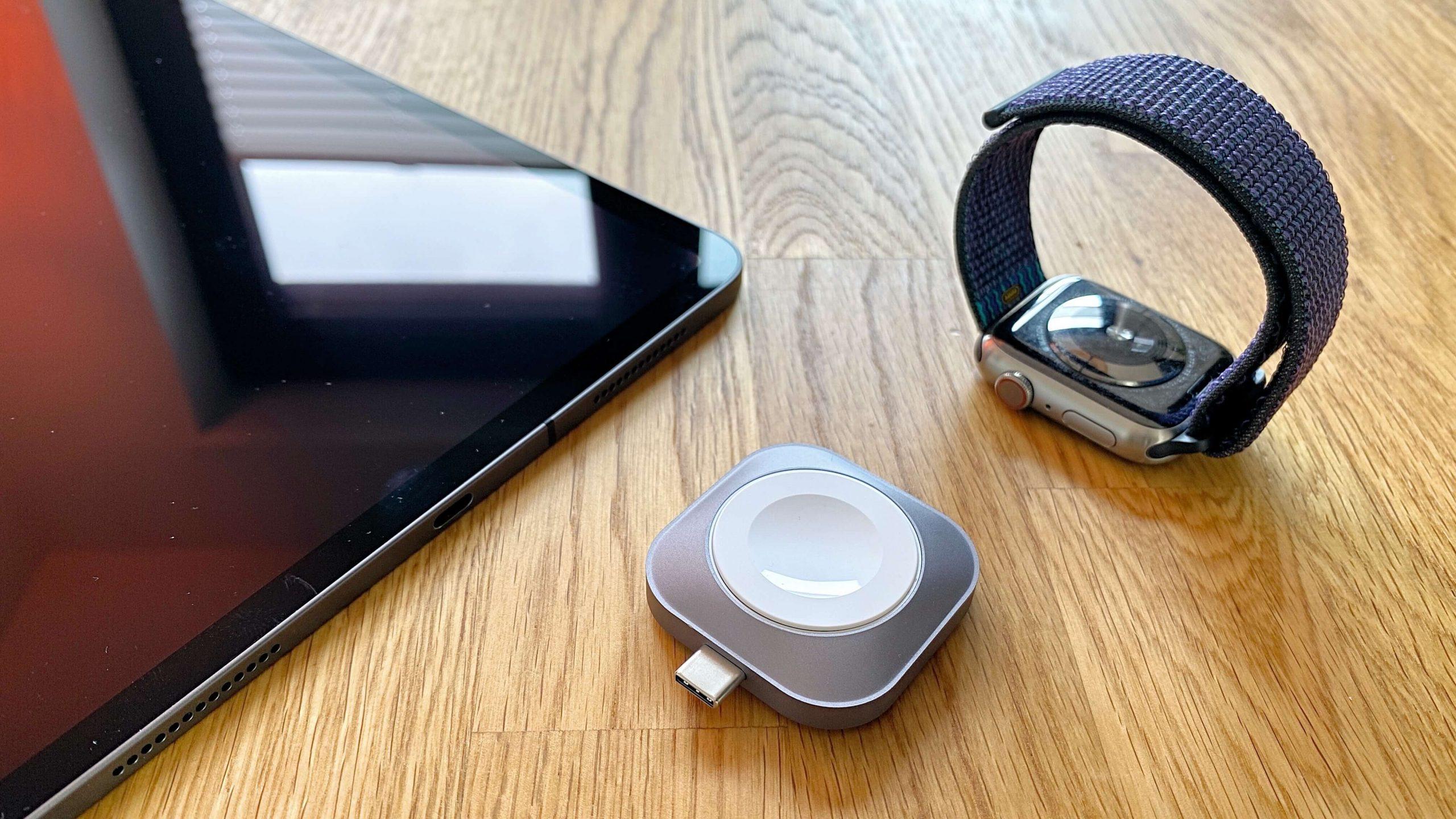 Satechi_Apple_Watch_USBC_Charger_Ladegerät_MFI_Review2-scaled USB-C-Adapter für die Apple Watch von Satechi - ganz ohne Kabel aufladen