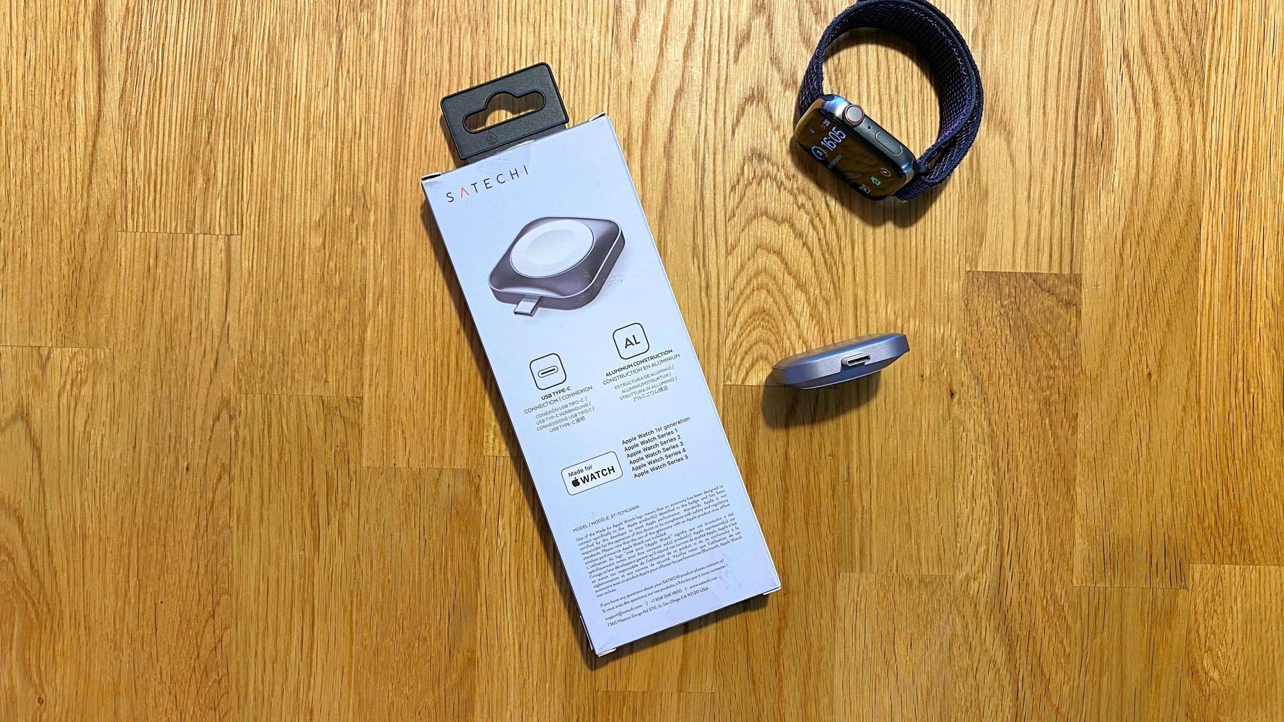 Satechi_Apple_Watch_USBC_Charger_Ladegerät_MFI_Review3-scaled USB-C-Adapter für die Apple Watch von Satechi - ganz ohne Kabel aufladen