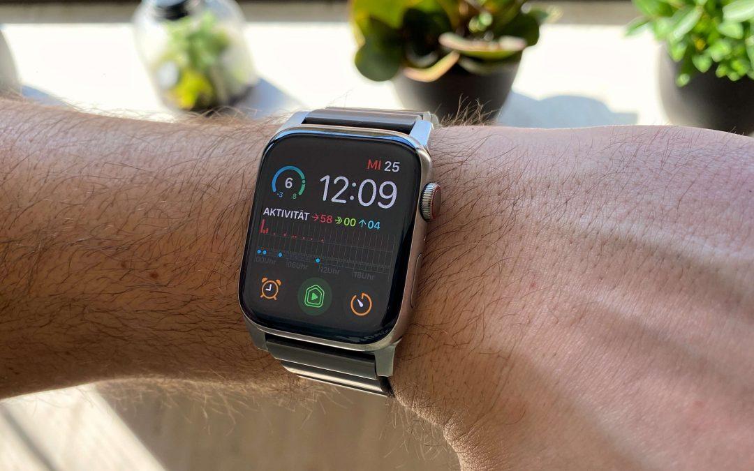 Titanarmband von Nomad – stilgerecht für die Apple Watch Edition