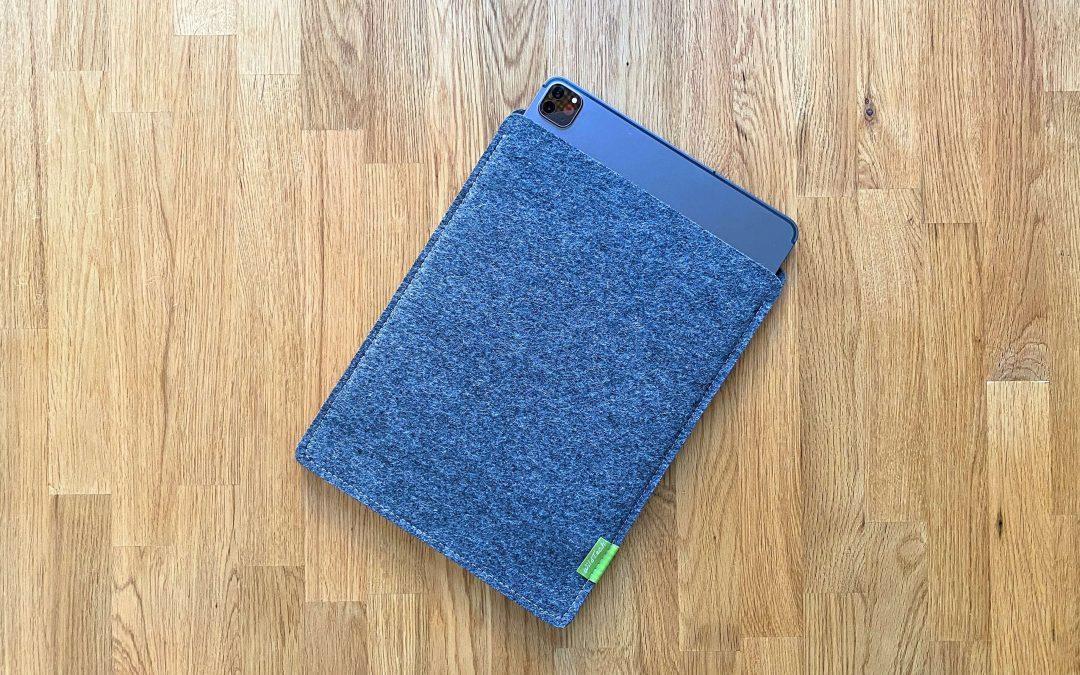 Schutz aus Wollfilz von WildTech – das iPad Pro (2020) stilvoll geschützt