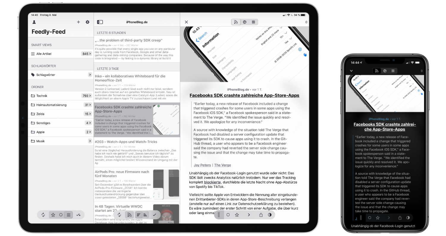 App-Tipp-Fiery-Feeds-moderner-RSS-Reader-für-iPhone-iPad-und-Mac2 Fiery Feeds - moderner RSS-Reader für iPhone, iPad und Mac