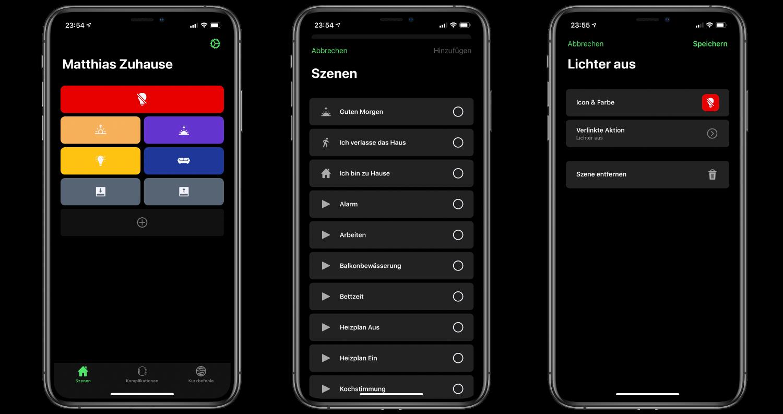 App-Tipp-HomeRun-Apple-HomeKit-Szenen-auf-der-Apple-Watch-ausführen1 HomeRun - Apple HomeKit-Szenen auf der Apple Watch ausführen
