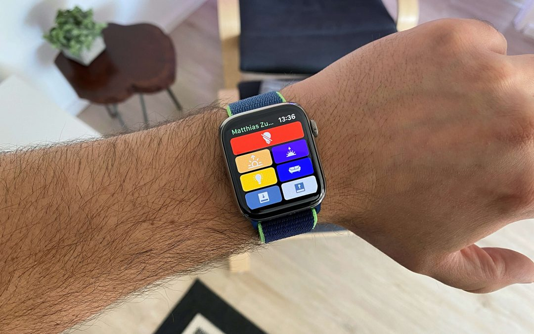 HomeRun – Apple HomeKit-Szenen auf der Apple Watch ausführen