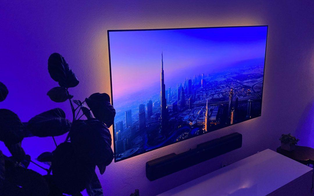 Eve Light Strip von Eve – dem TV eine Ambientebeleuchtung nachrüsten