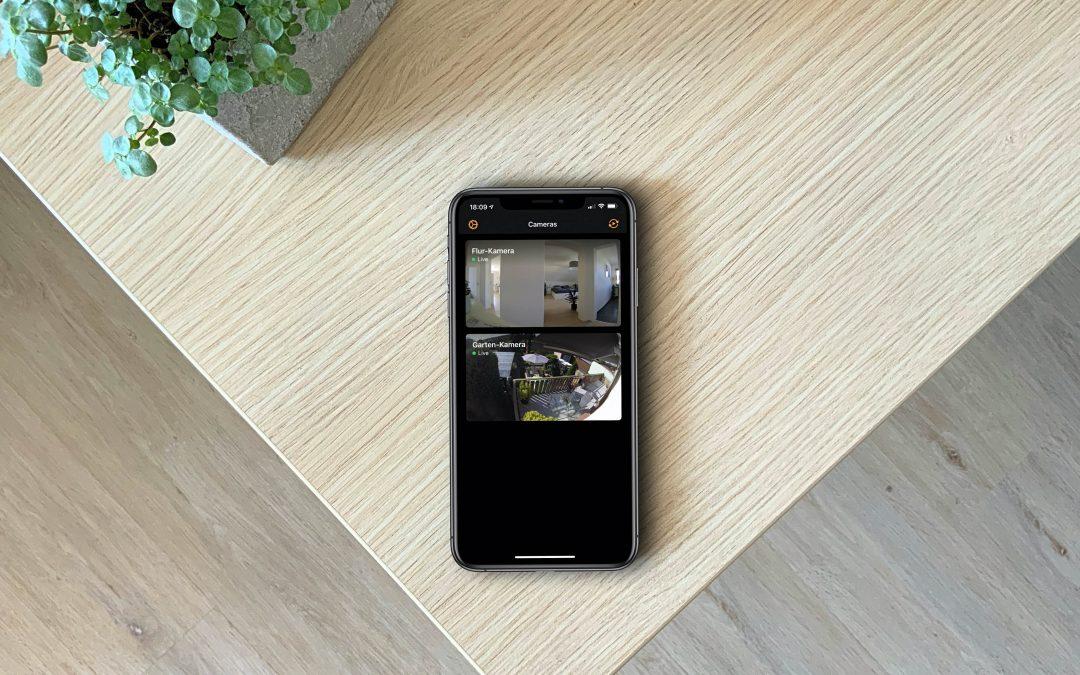 HomeCam – alle Streams der Apple HomeKit-Kameras aufgeräumt betrachten