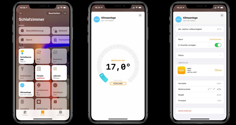 """Projekt-22kühler-Sommer22-Klimaanlagensteuerung-via-Apple-HomeKit-von-tado4 Projekt """"kühler Sommer"""" - Apple HomeKit Klimaanlagensteuerung von tado"""
