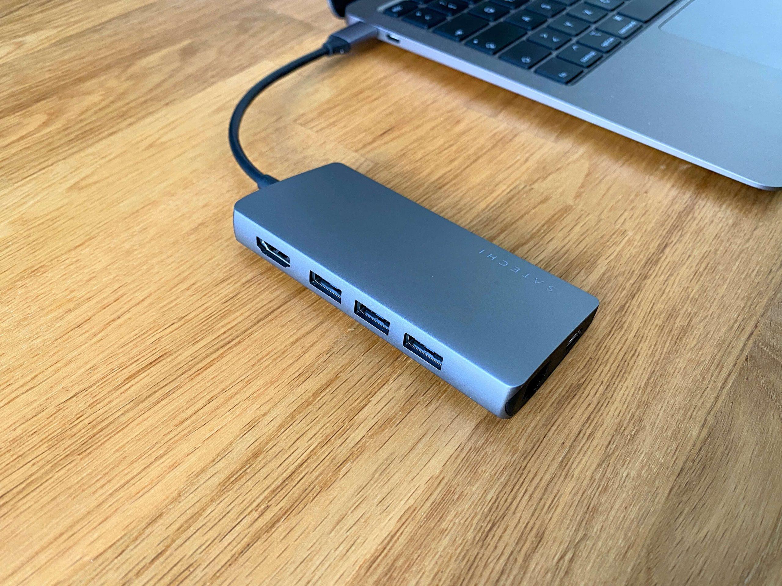 Multiport-Adapter-V2-von-Satechi-HDMI-Speicherkartenslot-USB-C-Ethernet-und-Strom2-scaled Multiport-Adapter V2 von Satechi - HDMI, Speicherkartenslot, USB-A, Ethernet und Strom