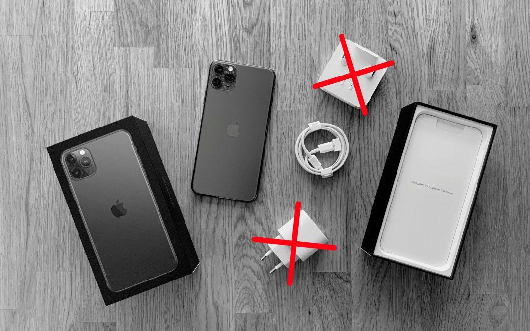 iPhone 12 ohne Ladegerät und Kopfhörer in der Schachtel?