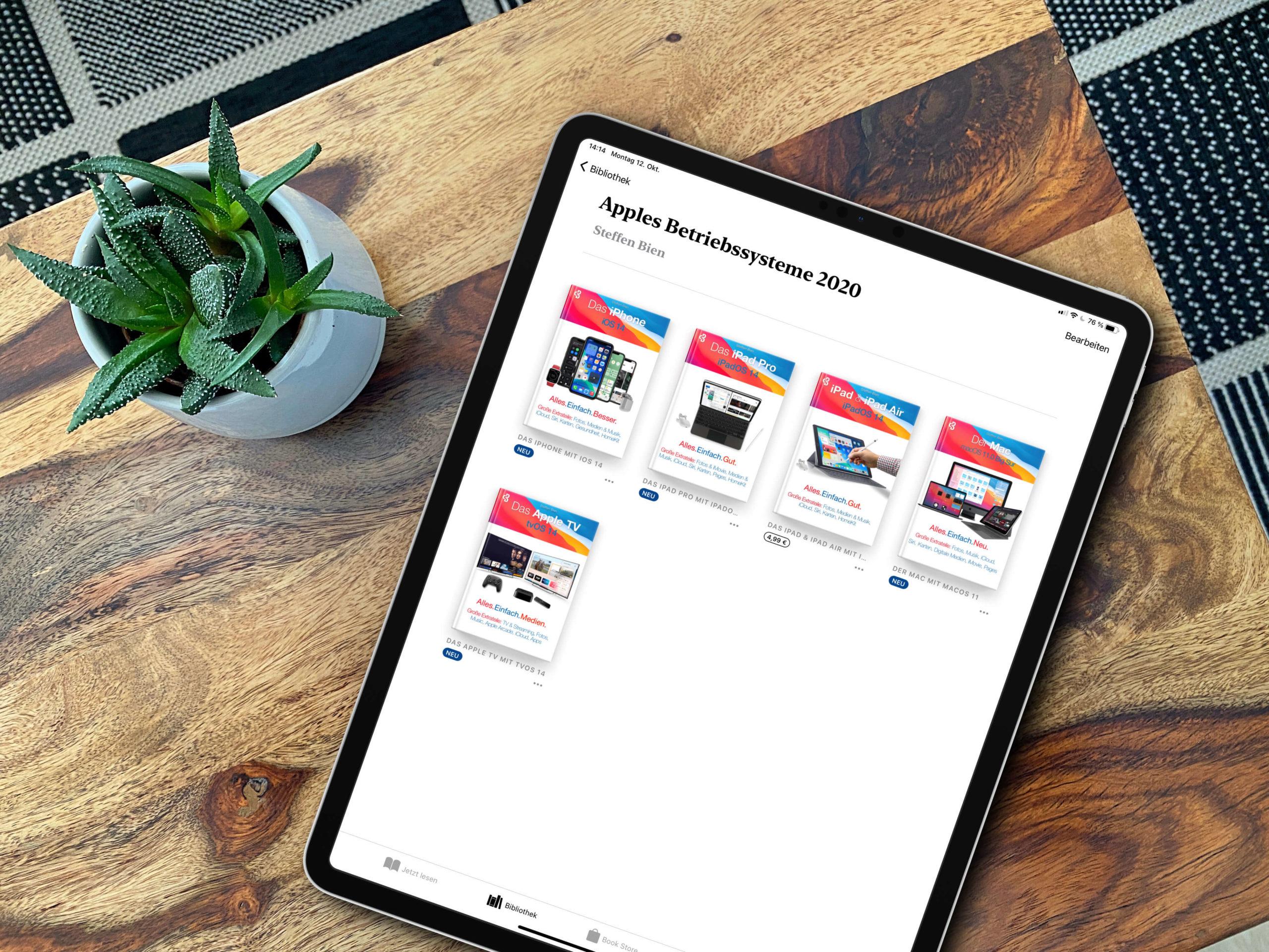 Digitale-Fachbuecher-zu-iOS-14-iPadOS-14-tvOS-15-und-macOs-Big-Sur-fuer-den-Profi-scaled Für den Neuling und Profianwender: Digitale Fachbücher zu iOS 14, iPadOS 14, tvOS 14 und macOS Big Sur