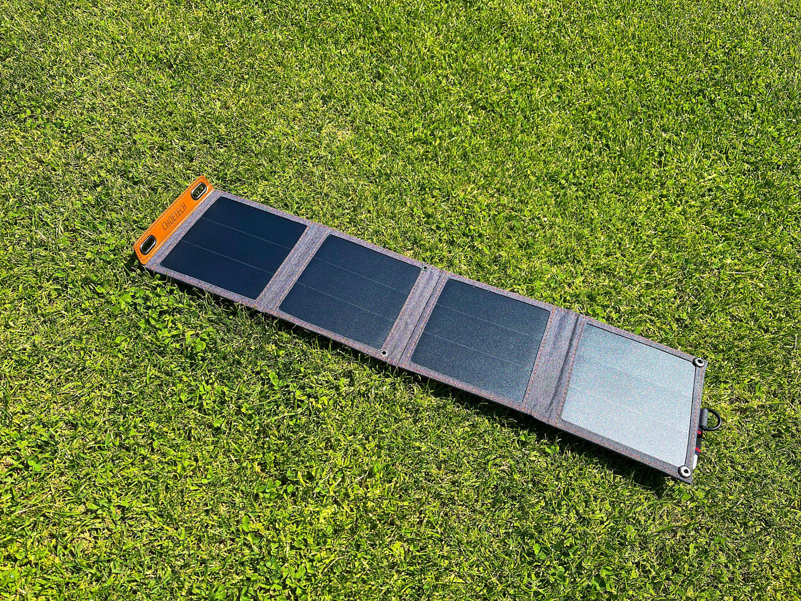 14-Watt-Solarladegeraet-von-Choetech-mit-der-Kraft-der-Sonne-aufladen2-scaled 14 Watt Solarladegerät von Choetech - mit der Kraft der Sonne aufladen
